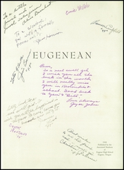 Eugene High School - Eugenean Yearbook (Eugene, OR) online yearbook collection, 1948 Edition, Page 5