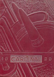 Eunice High School - Cardinal Yearbook (Eunice, NM) online yearbook collection, 1939 Edition, Cover
