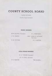 Page 12, 1939 Edition, Eunice High School - Cardinal Yearbook (Eunice, NM) online yearbook collection