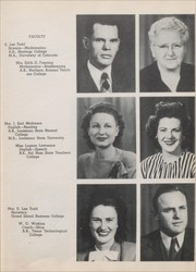 Page 13, 1946 Edition, Eunice High School - Cardinal Yearbook (Eunice, NM) online yearbook collection