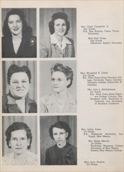 Page 16, 1946 Edition, Eunice High School - Cardinal Yearbook (Eunice, NM) online yearbook collection