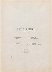 Page 7, 1946 Edition, Eunice High School - Cardinal Yearbook (Eunice, NM) online yearbook collection