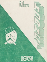 Eureka High School - Hornet Yearbook (Eureka, IL) online yearbook collection, 1951 Edition, Cover