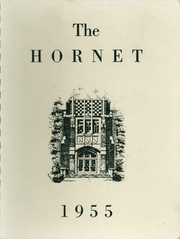 Eureka High School - Hornet Yearbook (Eureka, IL) online yearbook collection, 1955 Edition, Cover
