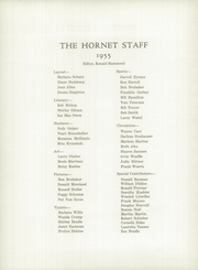 Page 6, 1955 Edition, Eureka High School - Hornet Yearbook (Eureka, IL) online yearbook collection