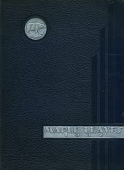 Fairmont High School - Maple Leaves Yearbook (Fairmont, WV) online yearbook collection, 1937 Edition, Cover