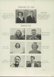 Page 13, 1946 Edition, Fairview High School - Challenge Yearbook (Fairview, PA) online yearbook collection