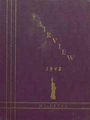 Fairview High School - Hi Lites Yearbook (Alta, IA) online yearbook collection, 1948 Edition, Cover