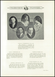 Page 15, 1926 Edition, Fairview High School - Tower Of Memories Yearbook (Dayton, OH) online yearbook collection