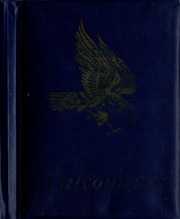 Falconer High School - Falconaire / Corridor Yearbook (Falconer, NY) online yearbook collection, 1957 Edition, Cover