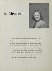 Page 14, 1949 Edition, Falls Church High School - Jaguar Yearbook (Falls Church, VA) online yearbook collection