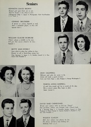 Page 17, 1949 Edition, Falls Church High School - Jaguar Yearbook (Falls Church, VA) online yearbook collection