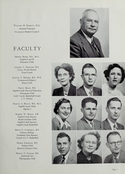 Page 11, 1952 Edition, Falls Church High School - Jaguar Yearbook (Falls Church, VA) online yearbook collection