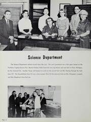 Page 16, 1958 Edition, Falls Church High School - Jaguar Yearbook (Falls Church, VA) online yearbook collection