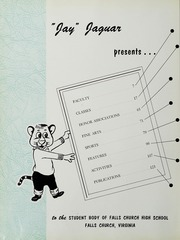 Page 6, 1958 Edition, Falls Church High School - Jaguar Yearbook (Falls Church, VA) online yearbook collection