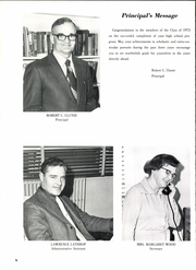 Page 12, 1973 Edition, Falmouth High School - Crest Yearbook (Falmouth, ME) online yearbook collection