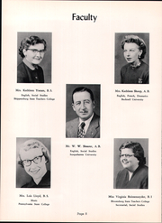 Page 12, 1954 Edition, Fannett Metal High School - Tuscaroran Yearbook (Willow Hill, PA) online yearbook collection