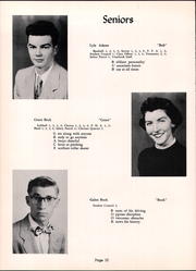 Page 14, 1954 Edition, Fannett Metal High School - Tuscaroran Yearbook (Willow Hill, PA) online yearbook collection