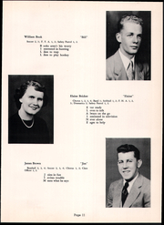 Page 15, 1954 Edition, Fannett Metal High School - Tuscaroran Yearbook (Willow Hill, PA) online yearbook collection