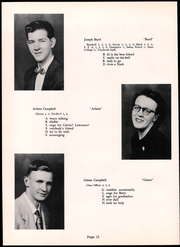 Page 16, 1954 Edition, Fannett Metal High School - Tuscaroran Yearbook (Willow Hill, PA) online yearbook collection