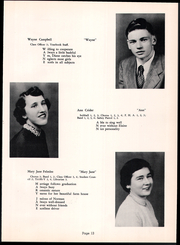Page 17, 1954 Edition, Fannett Metal High School - Tuscaroran Yearbook (Willow Hill, PA) online yearbook collection