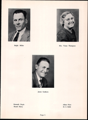 Page 9, 1954 Edition, Fannett Metal High School - Tuscaroran Yearbook (Willow Hill, PA) online yearbook collection