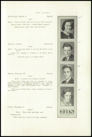 Page 13, 1933 Edition, Farmington High School - Laurel Yearbook (Farmington, ME) online yearbook collection