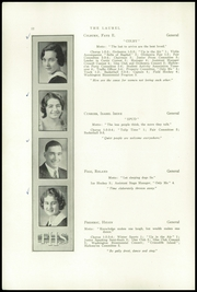 Page 14, 1933 Edition, Farmington High School - Laurel Yearbook (Farmington, ME) online yearbook collection