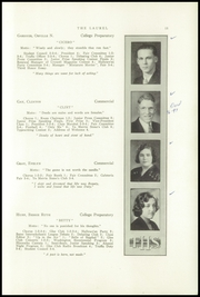 Page 15, 1933 Edition, Farmington High School - Laurel Yearbook (Farmington, ME) online yearbook collection