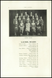 Page 6, 1933 Edition, Farmington High School - Laurel Yearbook (Farmington, ME) online yearbook collection