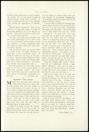 Page 9, 1933 Edition, Farmington High School - Laurel Yearbook (Farmington, ME) online yearbook collection