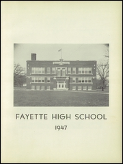 Page 7, 1947 Edition, Fayette High School - Cardinal Yearbook (Fayette, IA) online yearbook collection