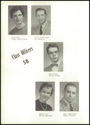 Page 14, 1958 Edition, Fayette High School - Falcon Yearbook (West Terre Haute, IN) online yearbook collection