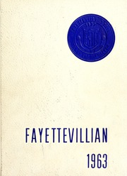 Fayetteville State University - Fayettevillian Bronco Yearbook (Fayetteville, NC) online yearbook collection, 1963 Edition, Cover