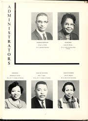 Page 16, 1963 Edition, Fayetteville State University - Fayettevillian Bronco Yearbook (Fayetteville, NC) online yearbook collection