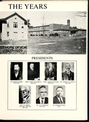 Page 9, 1963 Edition, Fayetteville State University - Fayettevillian Bronco Yearbook (Fayetteville, NC) online yearbook collection