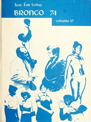 Fayetteville State University - Fayettevillian Bronco Yearbook (Fayetteville, NC) online yearbook collection, 1974 Edition, Cover