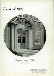 Ferguson High School - Crest Yearbook (Ferguson, MO) online yearbook collection, 1954 Edition, Page 5