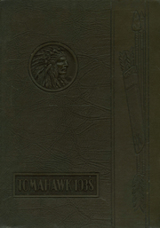 Ferndale Union High School - Tomahawk Yearbook (Ferndale, CA) online yearbook collection, 1938 Edition, Cover