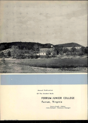 Page 8, 1958 Edition, Ferrum College - Beacon Yearbook (Ferrum, VA) online yearbook collection