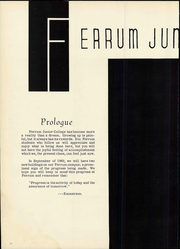Page 10, 1960 Edition, Ferrum College - Beacon Yearbook (Ferrum, VA) online yearbook collection
