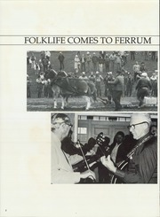 Page 6, 1984 Edition, Ferrum College - Beacon Yearbook (Ferrum, VA) online yearbook collection
