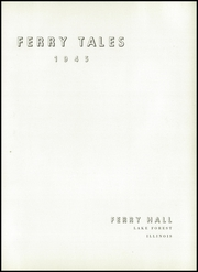 Page 7, 1945 Edition, Ferry Hall School - Ferry Tales Yearbook (Lake Forest, IL) online yearbook collection