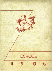 Fillmore High School - Echoes Yearbook (Fillmore, IN) online yearbook collection, 1954 Edition, Cover