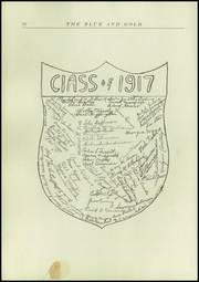 Page 14, 1917 Edition, Findlay High School - Trojan Yearbook (Findlay, OH) online yearbook collection