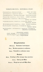 Page 13, 1917 Edition, Finlandia University - Yearbook (Hancock, MI) online yearbook collection