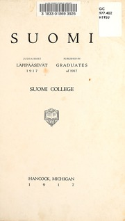 Page 7, 1917 Edition, Finlandia University - Yearbook (Hancock, MI) online yearbook collection