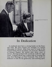 Page 6, 1968 Edition, First Colonial High School - Heritage Yearbook (Virginia Beach, VA) online yearbook collection