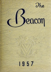 Fisher College - Beacon Yearbook (Boston, MA) online yearbook collection, 1957 Edition, Cover