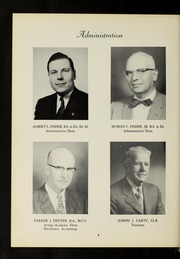 Page 10, 1957 Edition, Fisher College - Beacon Yearbook (Boston, MA) online yearbook collection